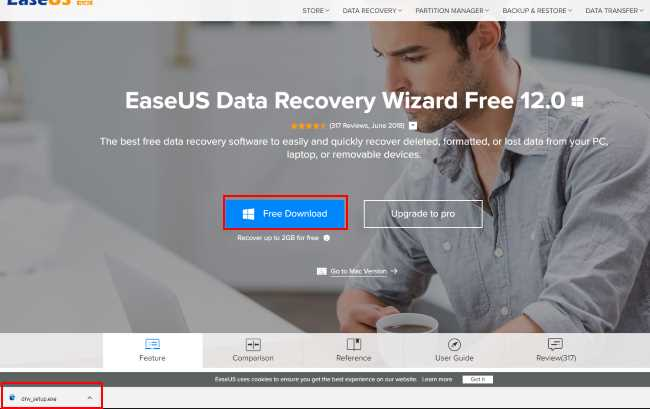 easeus data recovery download