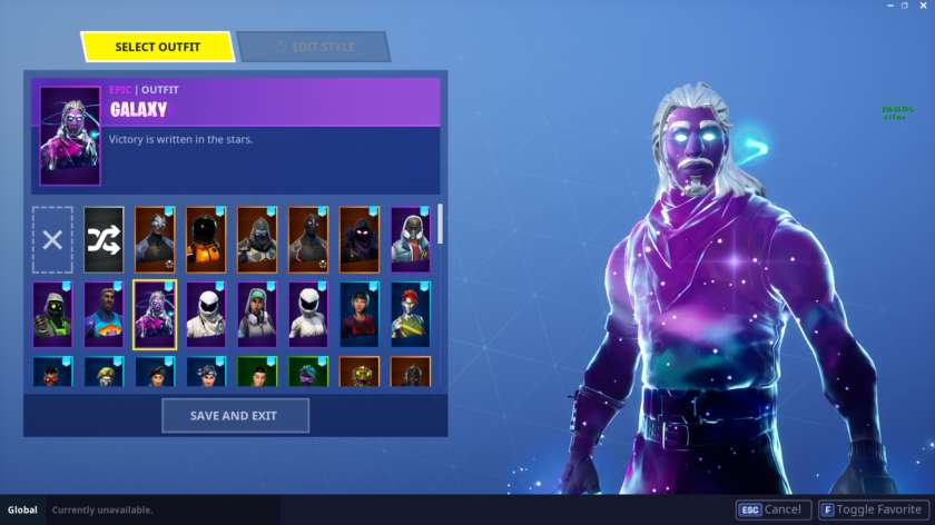 fortnite skin galaxy